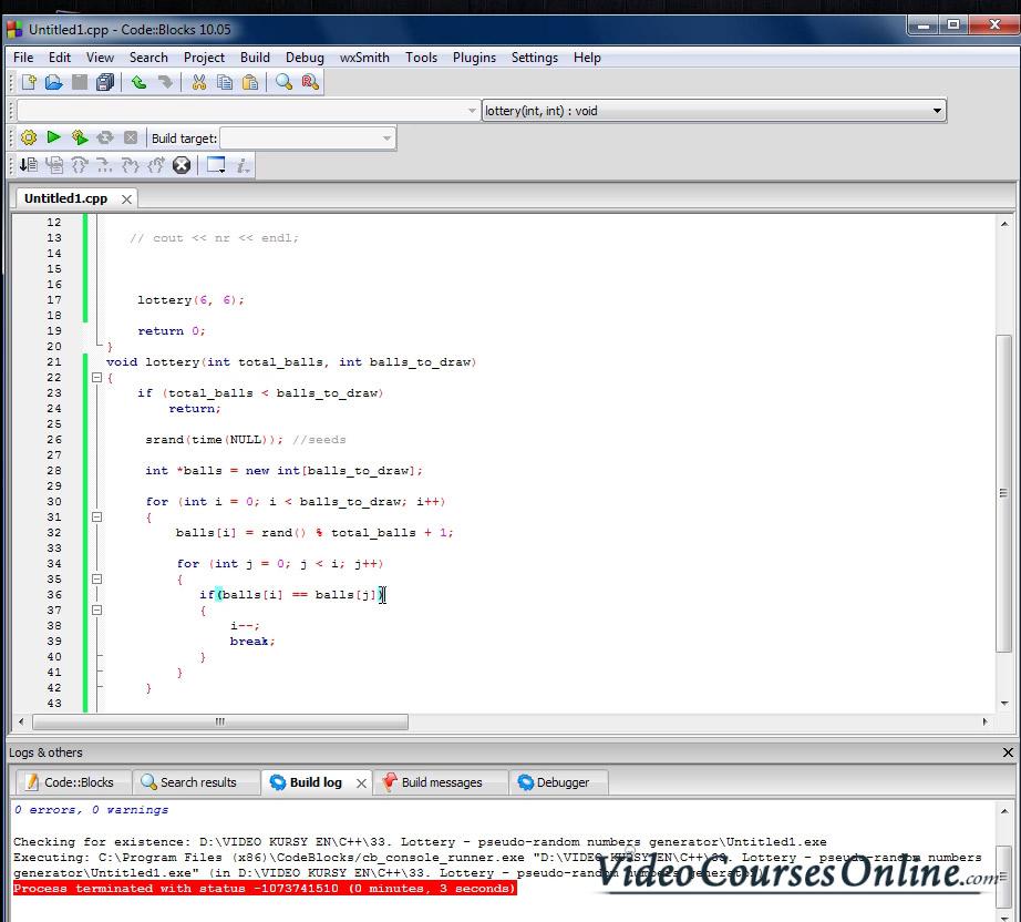 Video Course C++ | ONLINE
