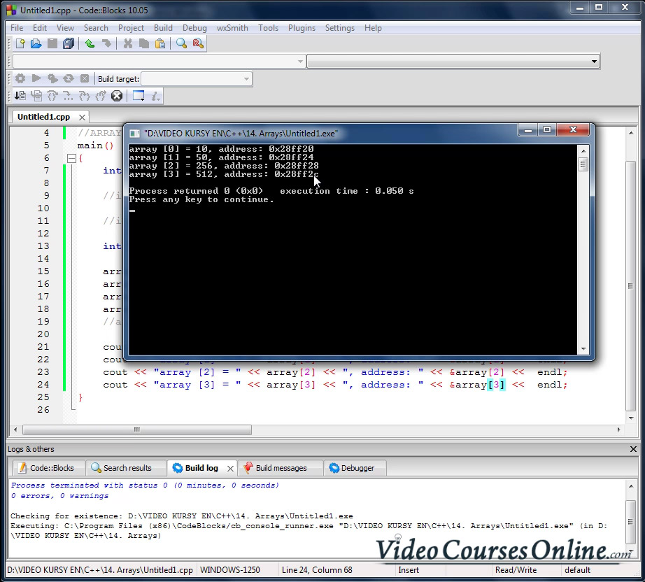 Video Course C++ | ONLINE