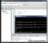 Screen from C++ Course